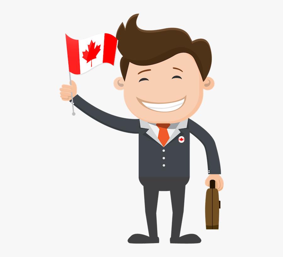 Canada Person Cartoon Transparent, Transparent Clipart