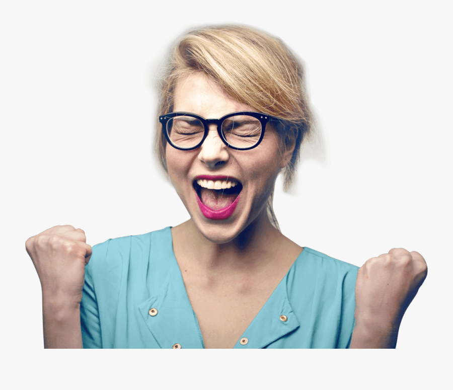 Download Happy Girl Png Pic - You Have To Fight Through Some Bad Days To Earn The, Transparent Clipart
