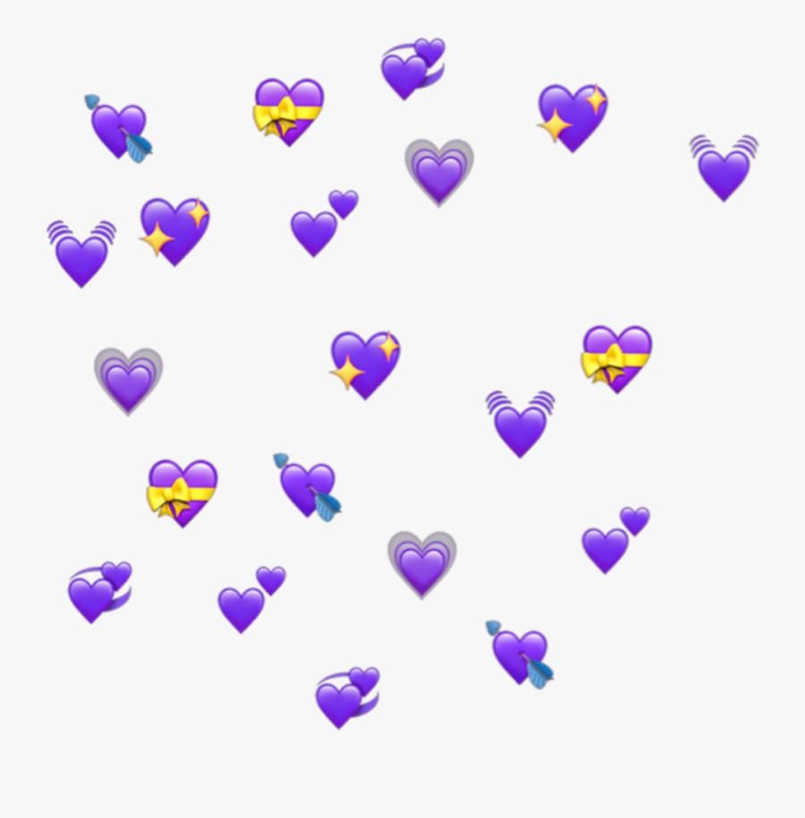 Heart Emojis Png - Heart Emoji Meme Transparent, Transparent Clipart