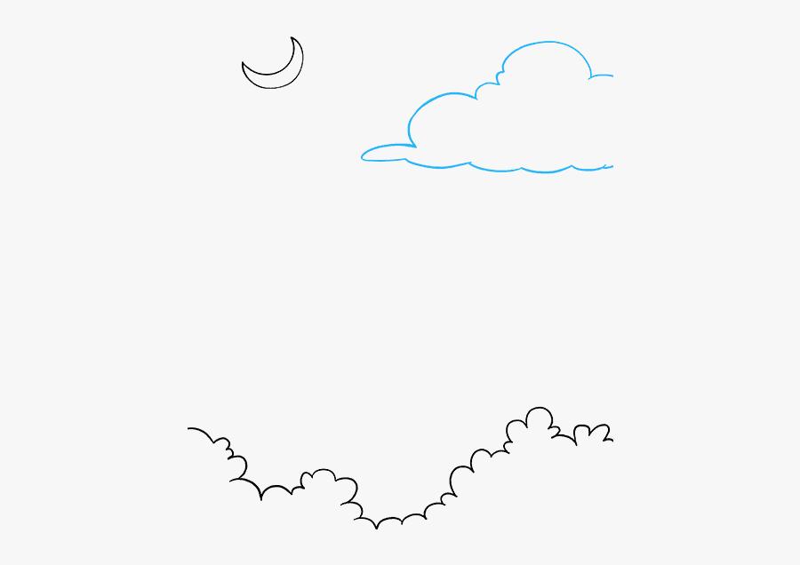 Night Sky Clip Art, Transparent Clipart
