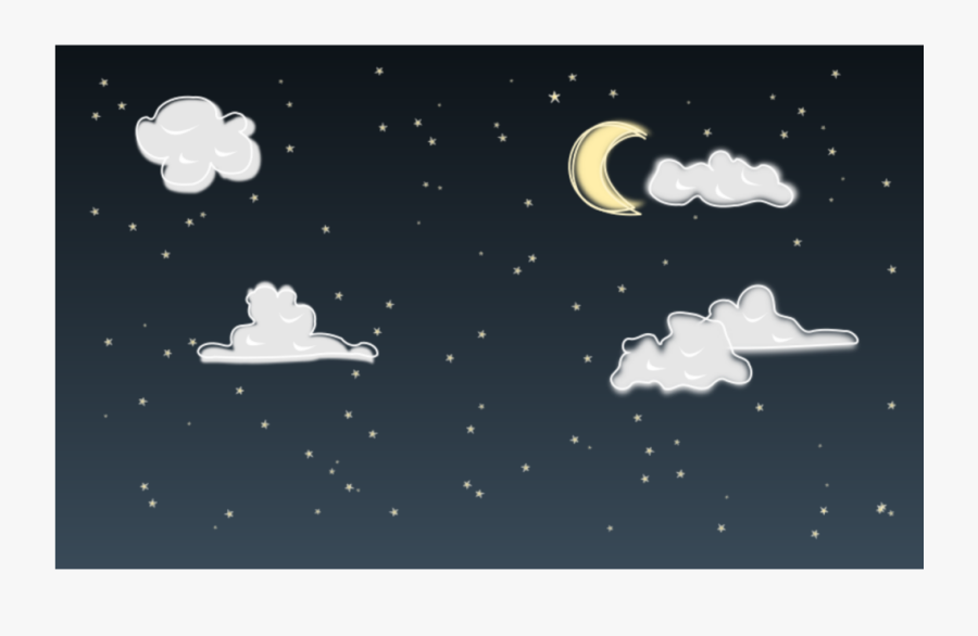 #ftestickers #clipart #cartoon #background #nightsky - Night Sky Clipart, Transparent Clipart