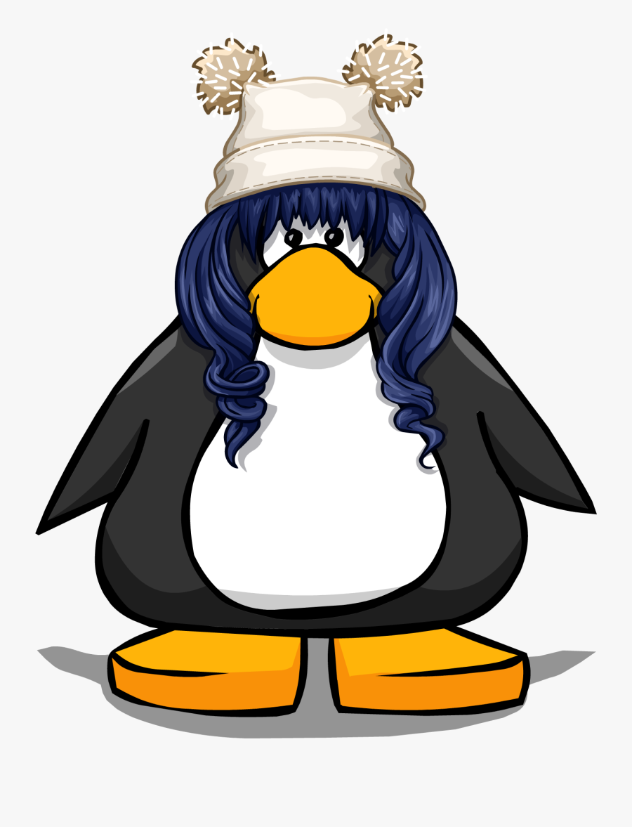 The Night Sky On A Player Card - Club Penguin Face, Transparent Clipart