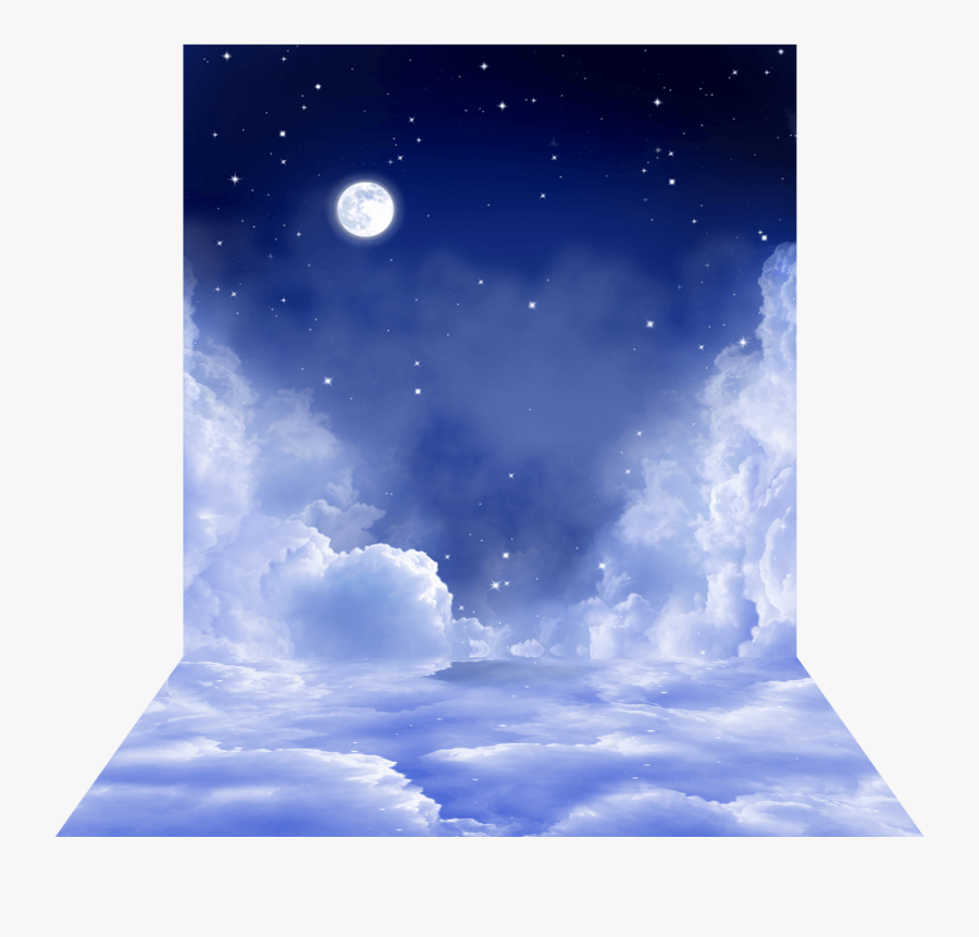 Transparent Heavenly Clipart - Picsart Png Background Sky, Transparent Clipart