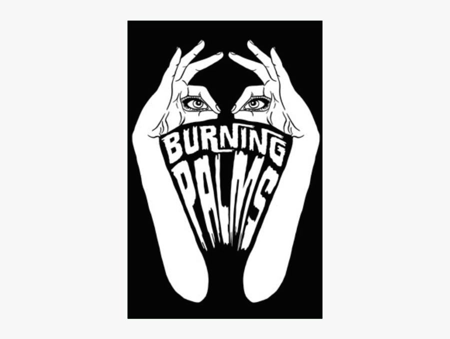 "Burning Palms -""s/t - Illustration, Transparent Clipart"