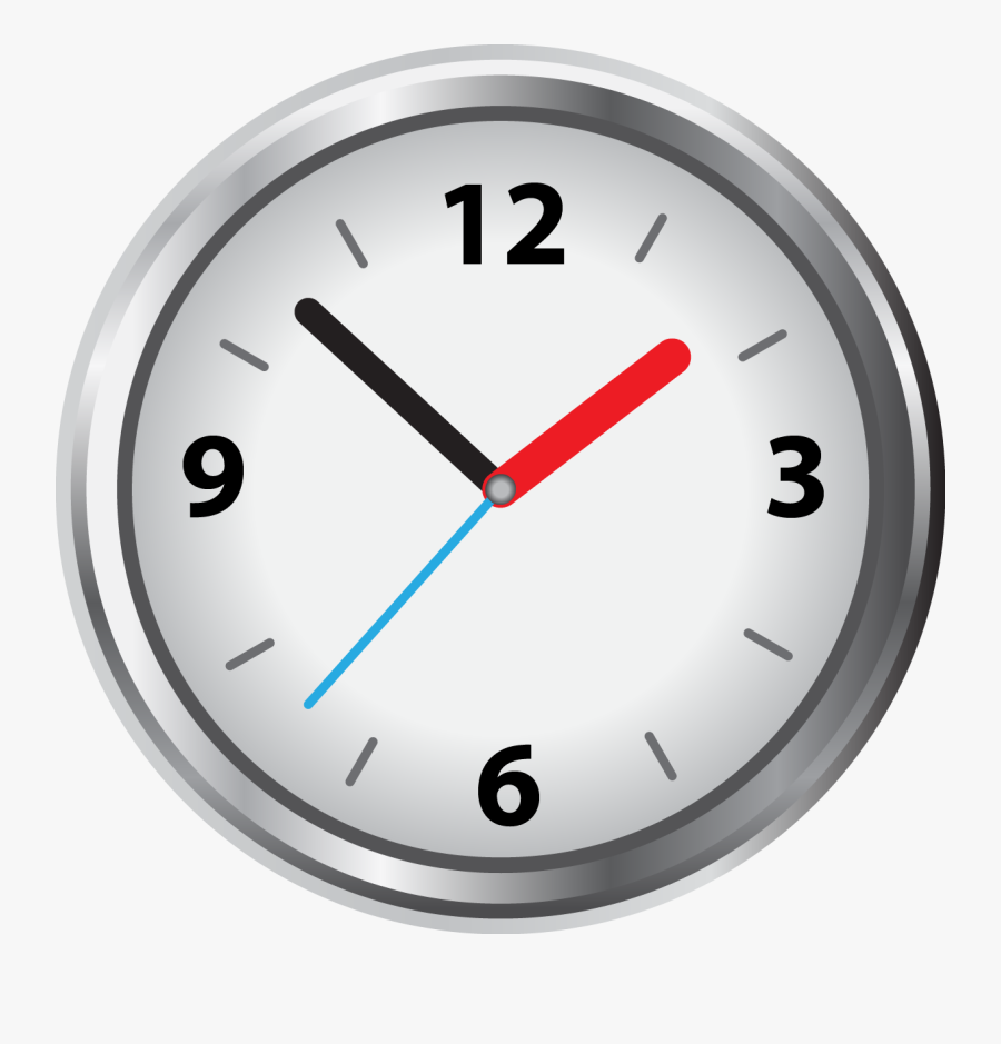 Blank Analog Clock Face - 16 40 On A Clock, Transparent Clipart