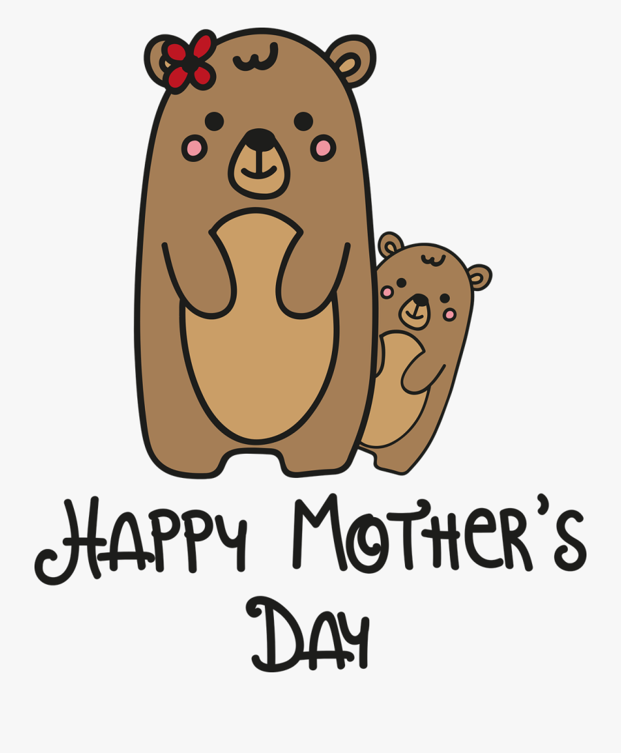Mother Happy Day Free Picture - Stepmom Drawings Mothers Day, Transparent Clipart