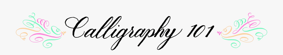 Calligraphy, Transparent Clipart