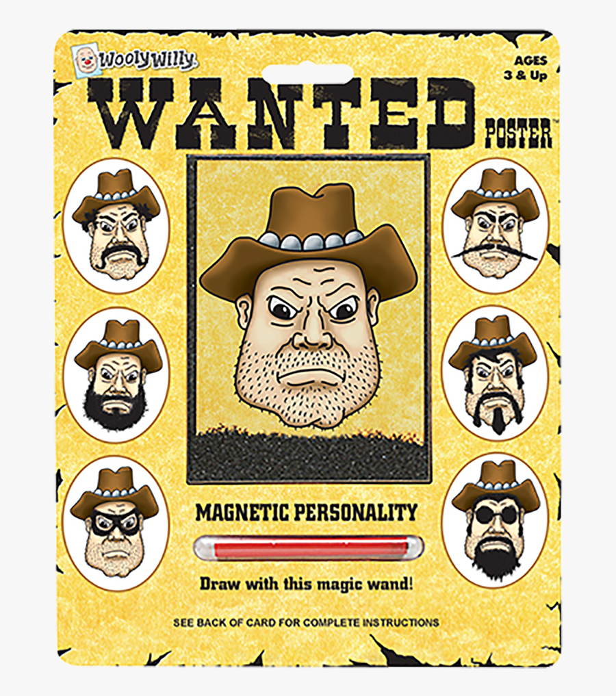 Blank Wanted Poster, Transparent Clipart