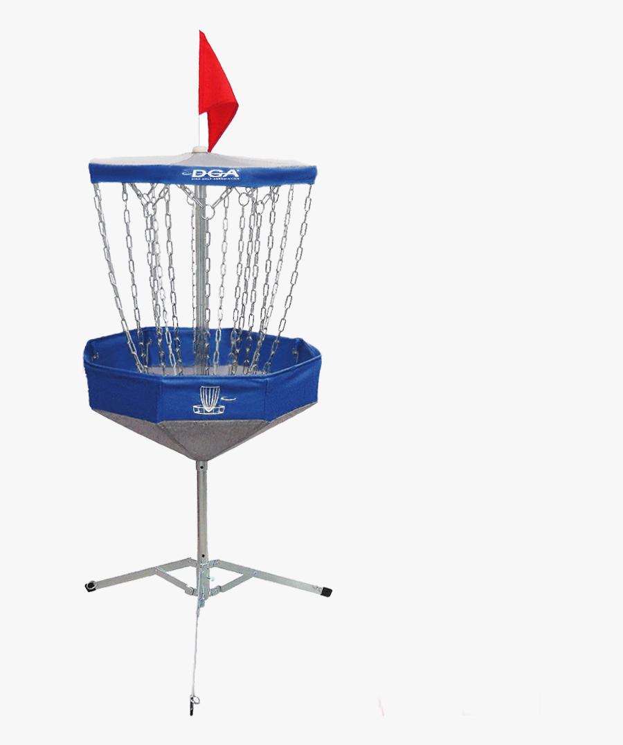 Portable Disc Golf Basket, Transparent Clipart
