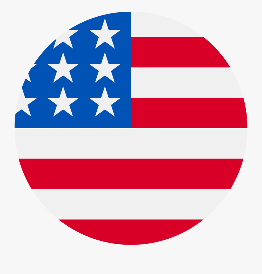 The 5th Watches Fifth Usa - United States Flag Round, Transparent Clipart