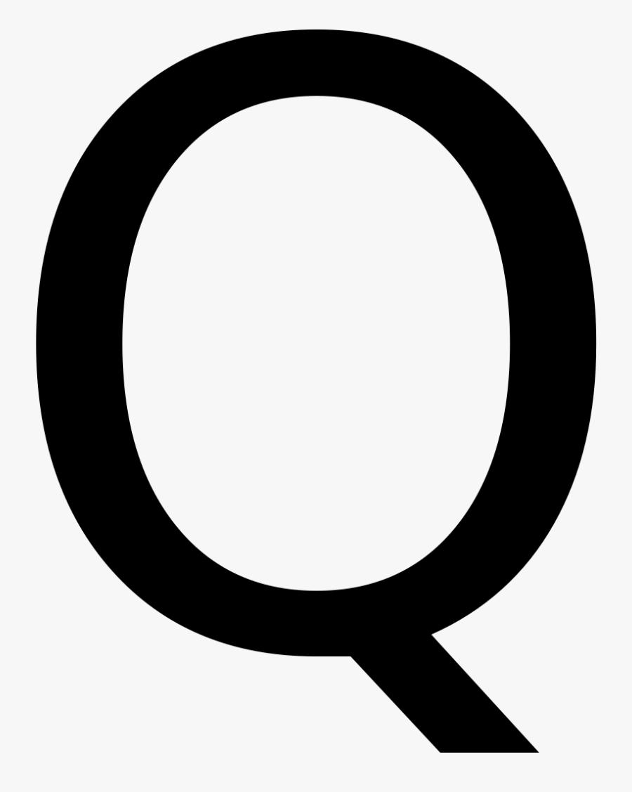 American Flag Png Letter Q - Letter Q, Transparent Clipart