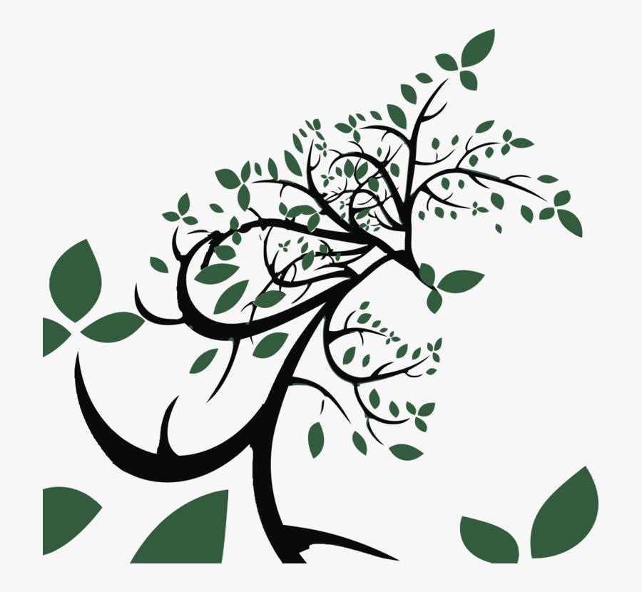 Plant,flower,leaf - Free Vector Tree, Transparent Clipart