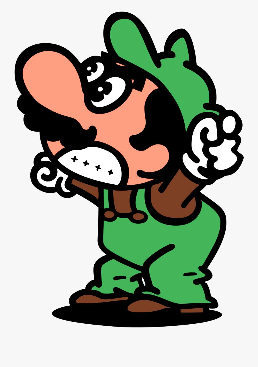 Luigi Mario Bros Video - Mario Bros Arcade Mario, Transparent Clipart