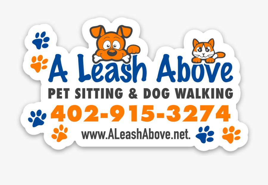 A Leash Above, Llc Pet Sitting & Dog Walking - Apple, Transparent Clipart