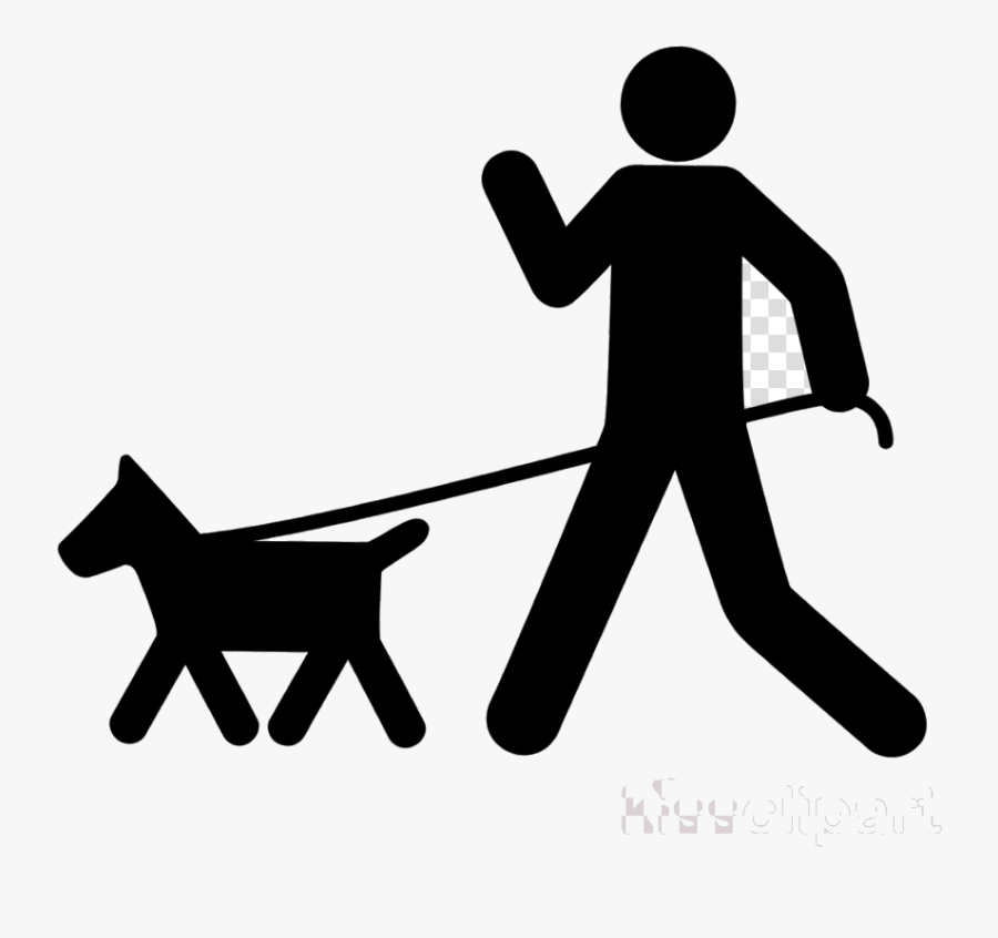 Dog Walking The Academy Clipart Pet Sitting Rottweiler - Transparent Dog Walking Icon, Transparent Clipart