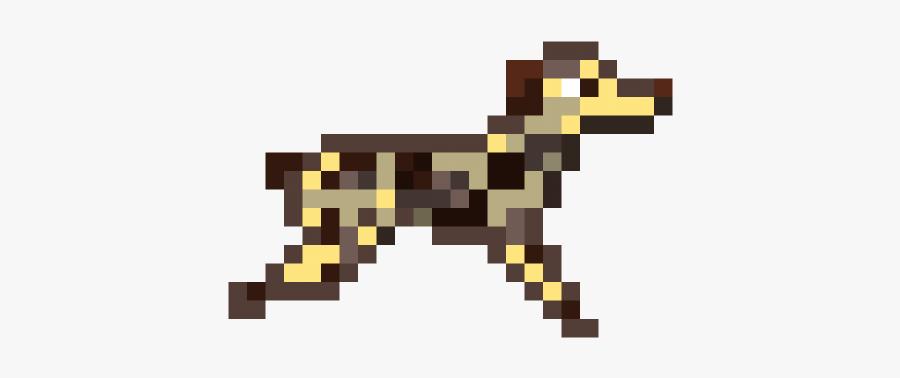 Dog Running Sprite, Transparent Clipart