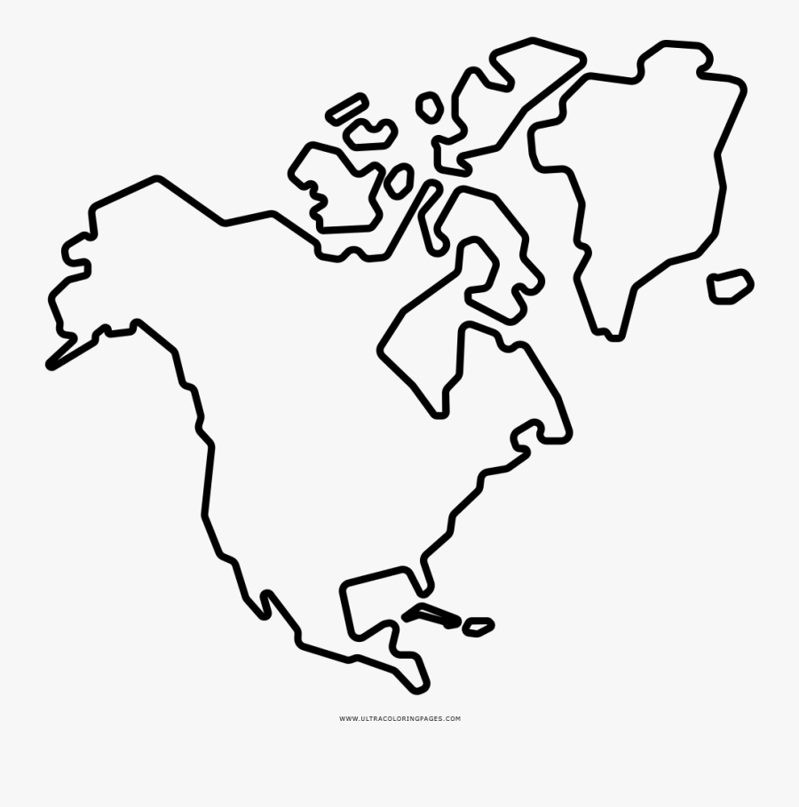 North America Coloring Page Ultra Pages North America