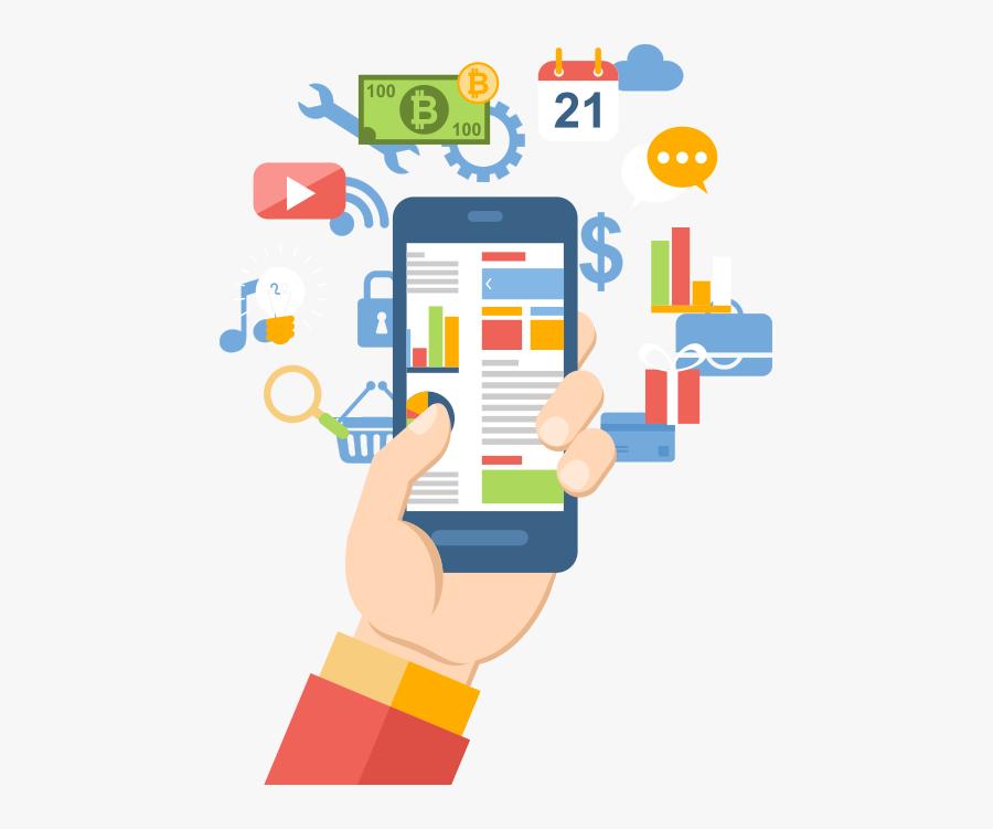 Mobile App Png, Transparent Clipart