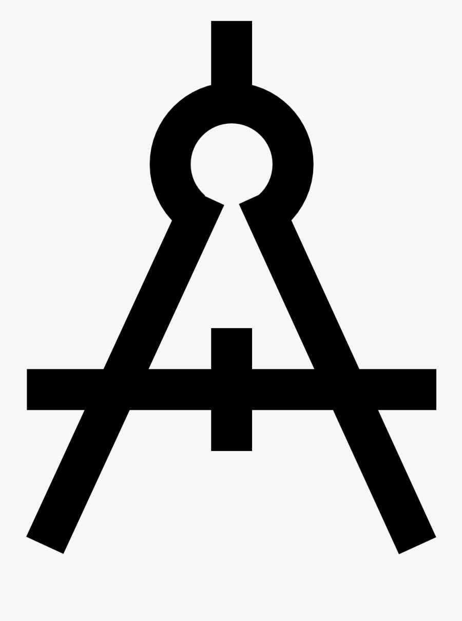 Source - Maxcdn - Icons8 - Com - Report - Drawing Compass - Icon, Transparent Clipart