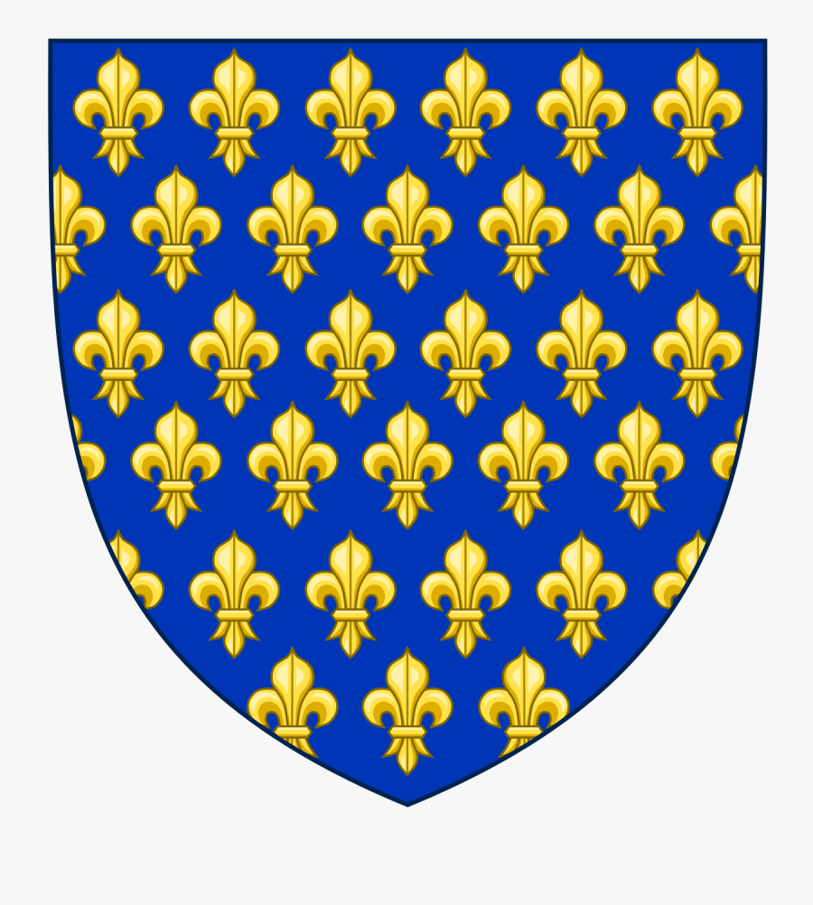 French Royal Coat Of Arms, Transparent Clipart
