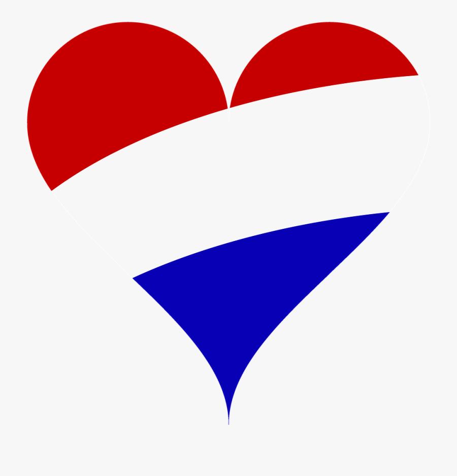 Netherlands, Love, Heart, Flag, Netherlands, Holland - Heart, Transparent Clipart