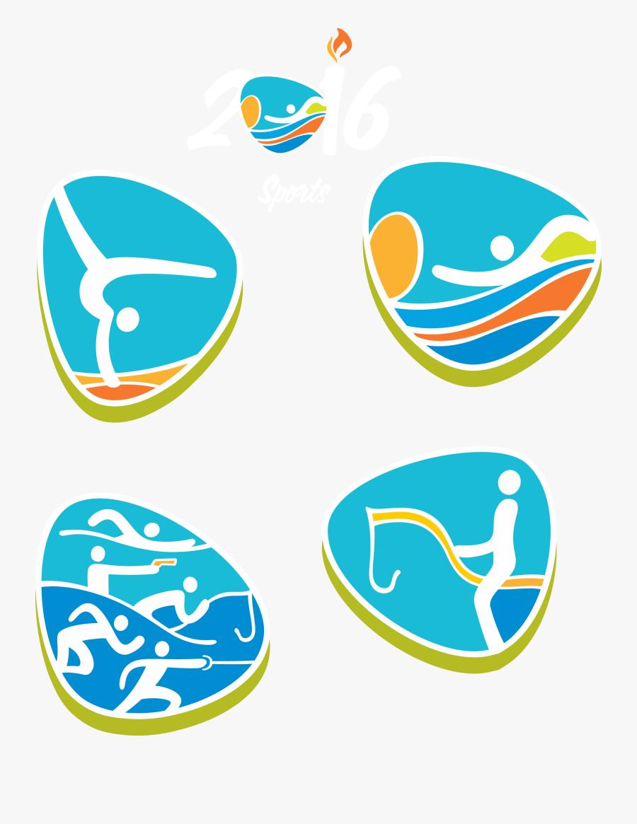 Summer Rio De - 2016 Summer Olympics Sport Symbol For Artistic Gymnastics, Transparent Clipart