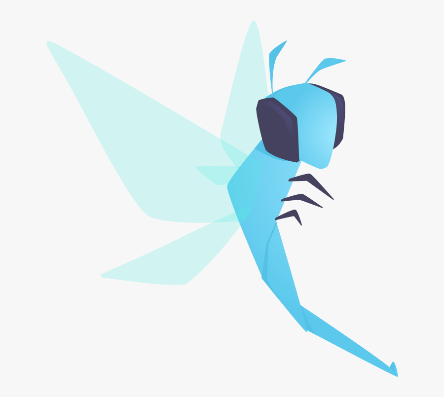 Hypothesis-dragonfly - Origami, Transparent Clipart