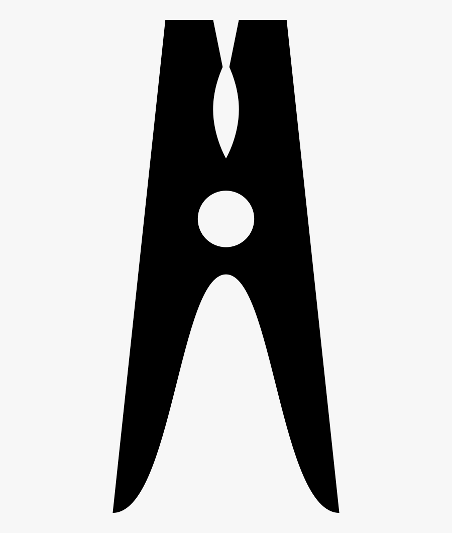 Clothes Pin - Clothes Pin Free Icon, Transparent Clipart