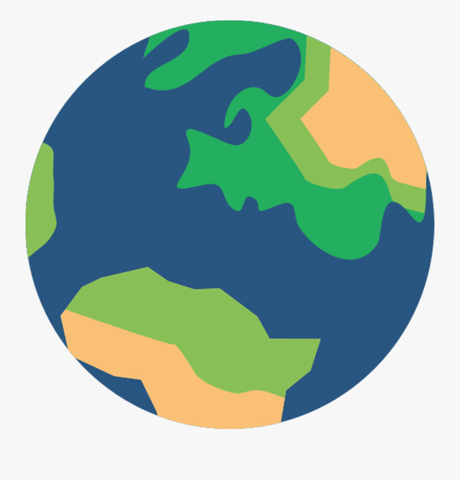 Earth Earthday Earthstickers Globe World - School Strike For Climate Logo, Transparent Clipart