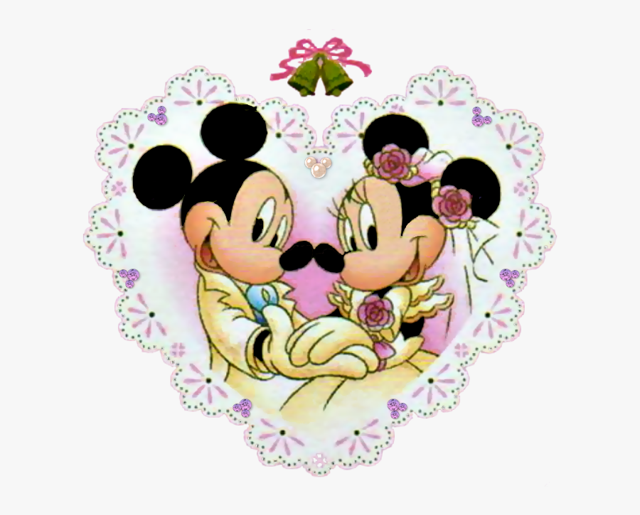 Gingerbread Clipart Mickey Mouse - Mickey & Minnie Wedding, Transparent Clipart