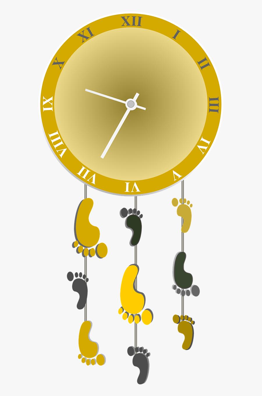 Wall Clock, Transparent Clipart