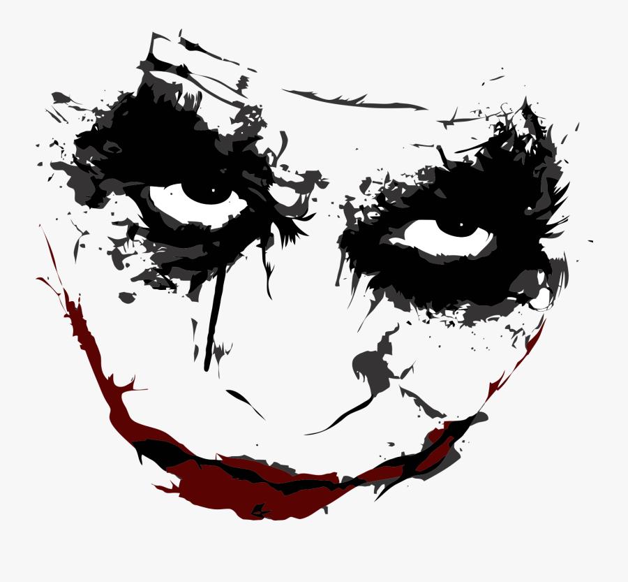 Joker Batman Harley Quinn Tattoo Picsart Joker Face Png Free Transparent Clipart Clipartkey