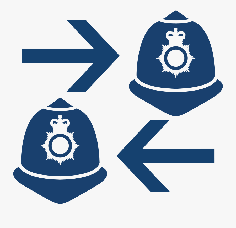 Uk Police Officer Icon, Transparent Clipart