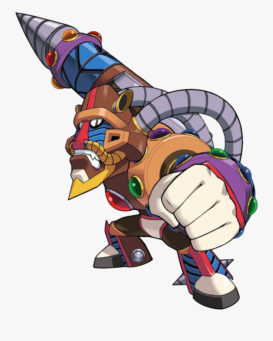 Mega Man X Spark Mandrill, Transparent Clipart