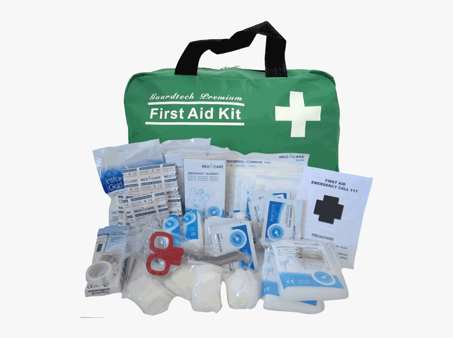 First Aid And First Aid Kit, Transparent Clipart