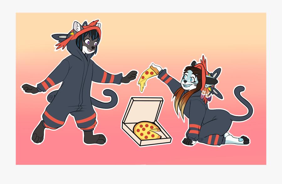 Kigu Pizza Party, Transparent Clipart