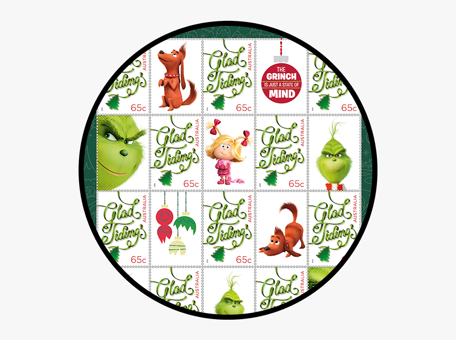 The Grinch Stamp Pack Product Photo Internal 1 Details - Circle, Transparent Clipart