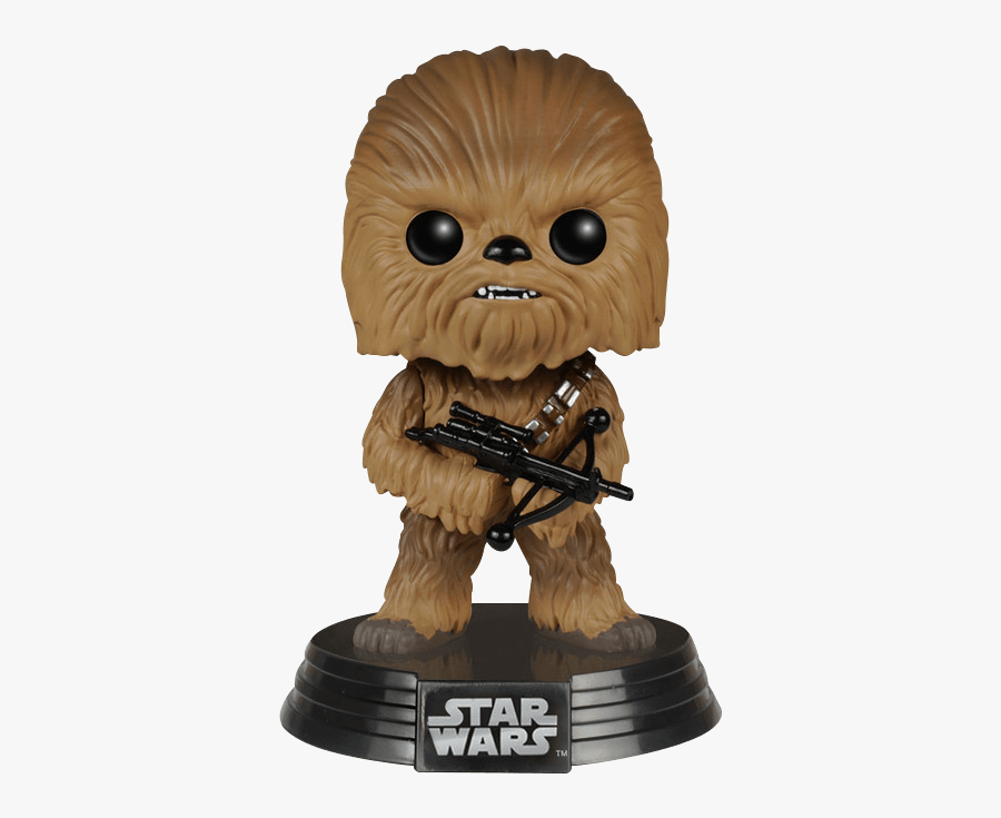 Download Chewbacca Png Pic - Figurine Pop Star Wars, Transparent Clipart