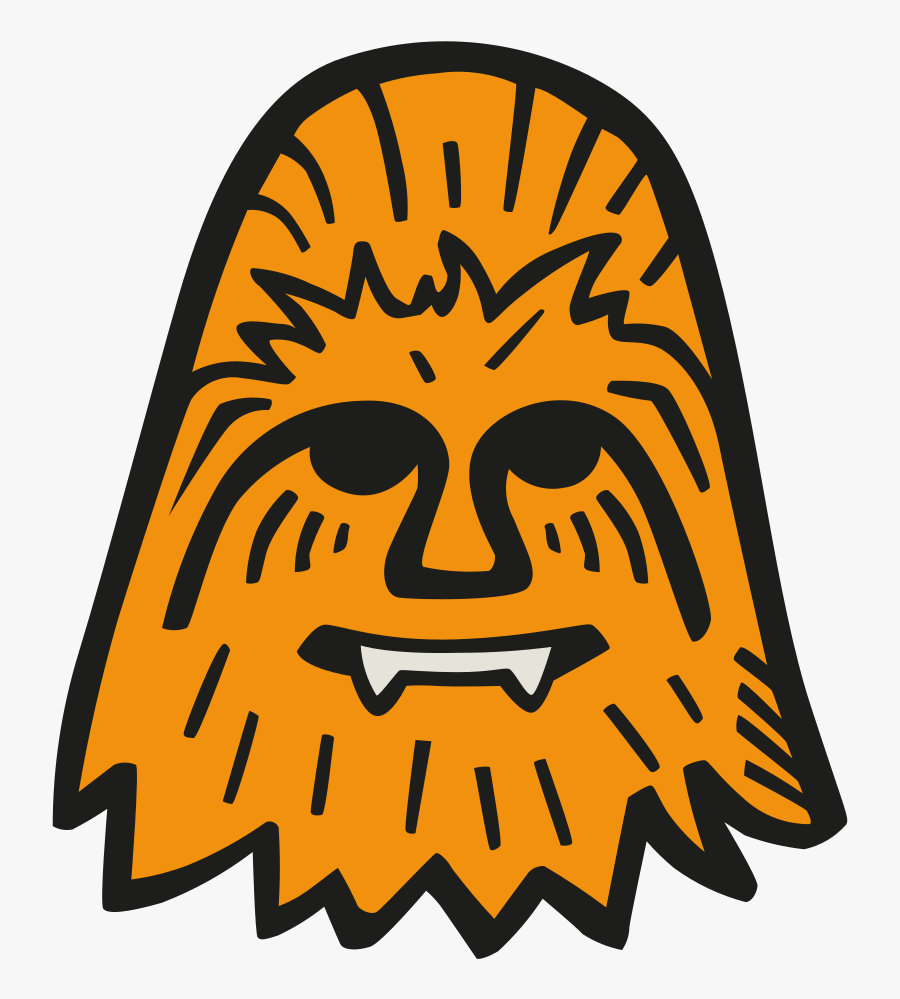 Chewbacca Icon - Chewie Star Wars Icon, Transparent Clipart