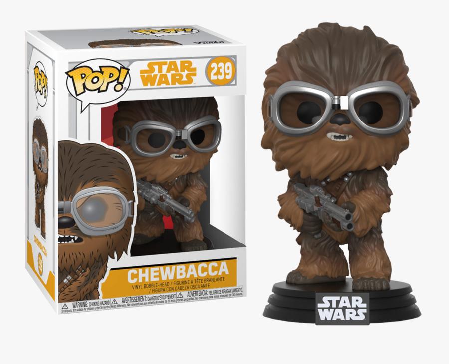 Chewbacca Pop Vinyl Figure - Funko Pops Star Wars, Transparent Clipart