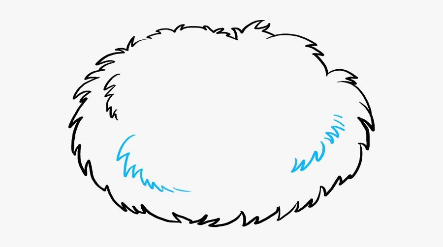 How To Draw Bird Nest - Draw A Birds Nest, Transparent Clipart