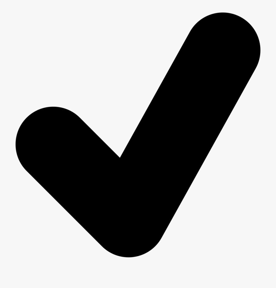 Transparent Check Mark Clipart - Checkmark Icon Svg, Transparent Clipart