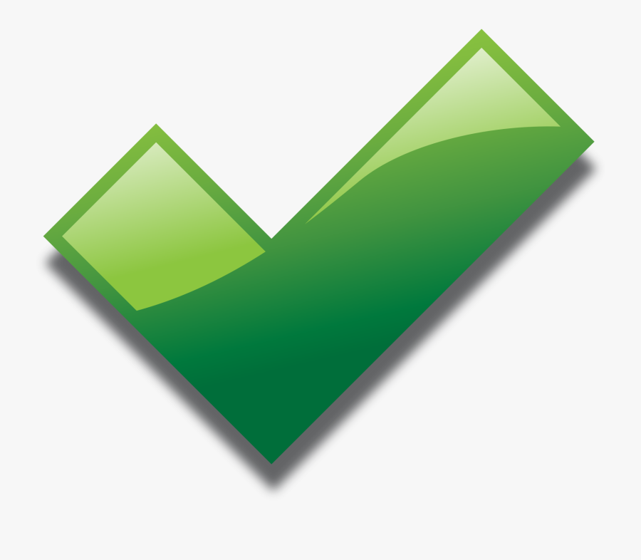 Transparent Green Check Mark Png - Green Tick Png Gif, Transparent Clipart
