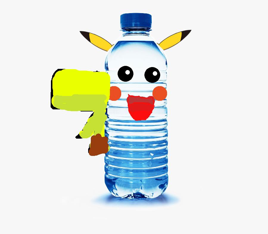 Plastic Bottle Clip Art , Png Download - Clip Art Bottled Water, Transparent Clipart