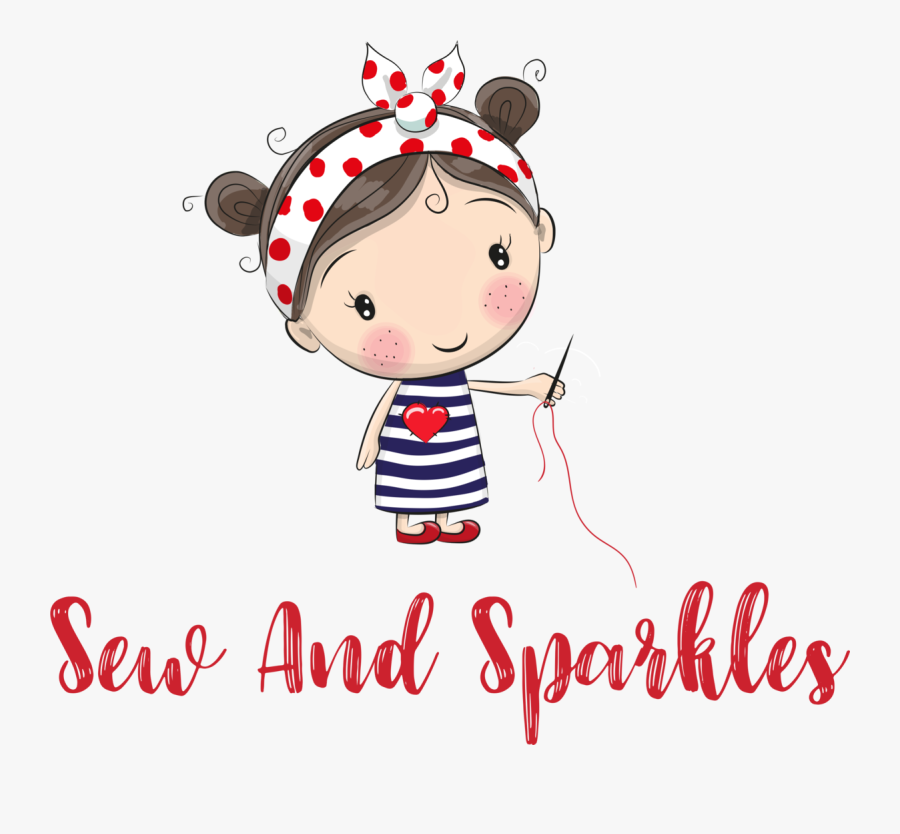 Cute Illustration Drawing Girl, Transparent Clipart