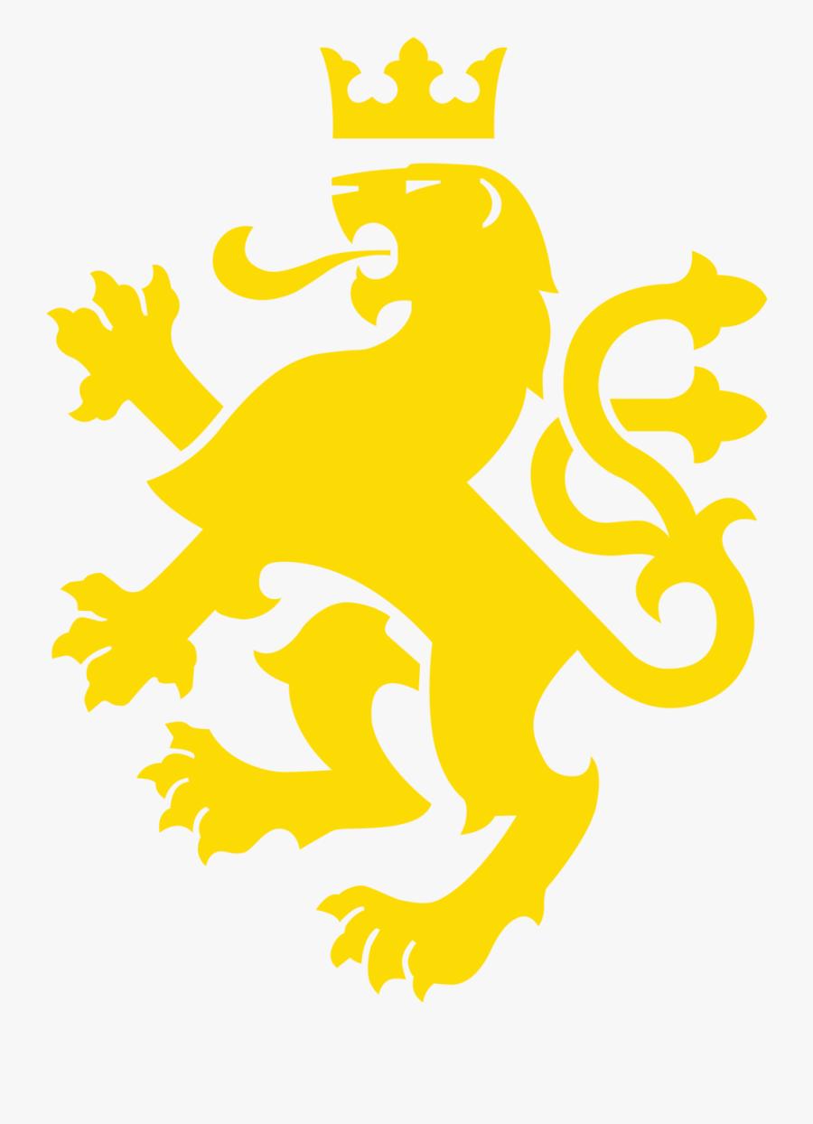 Showing Post & Media For Golden Lion Symbol - Heraldic Lion, Transparent Clipart