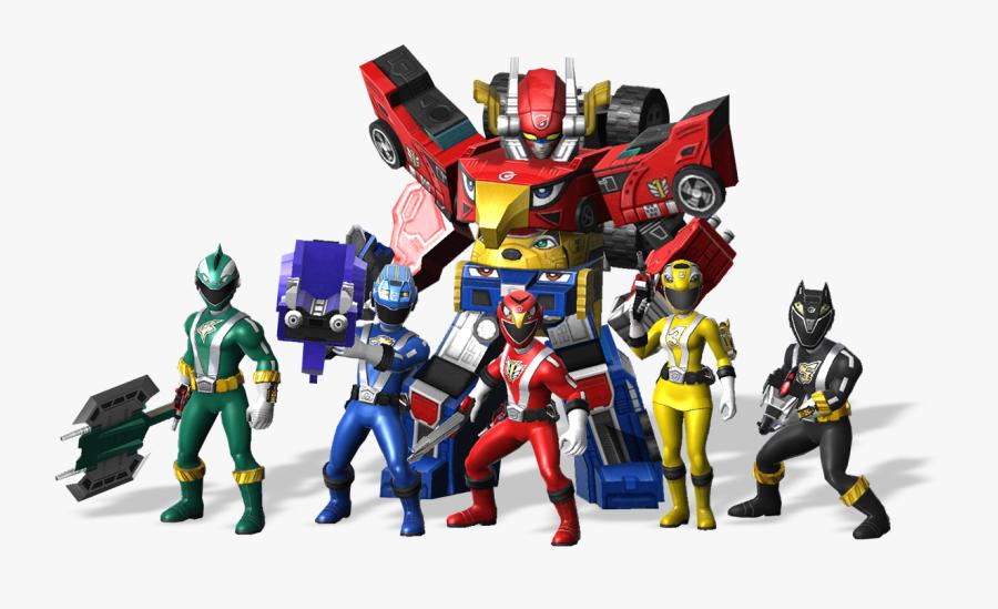Char0 Power Ranger All Star - Power Rangers All Stars Rpm, Transparent Clipart