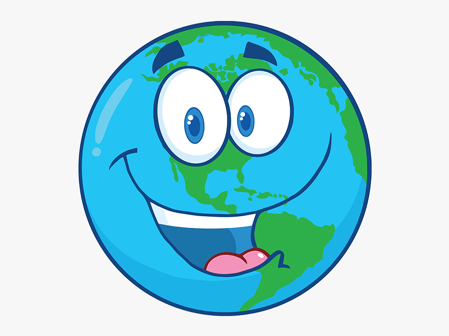 Happy Earth Cartoon , Free Transparent Clipart - ClipartKey