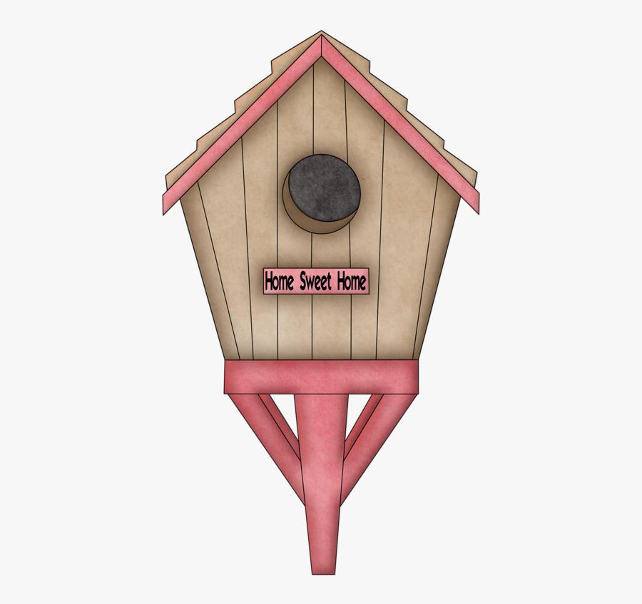 Home Sweet Home Birdhouse Pajareras, Clipart, Castillos, - Wood, Transparent Clipart