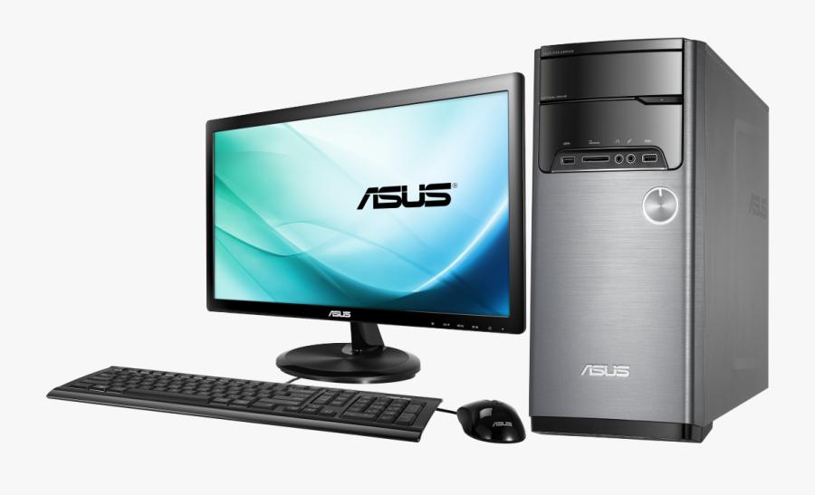 Asus Desktop Computer, Transparent Clipart